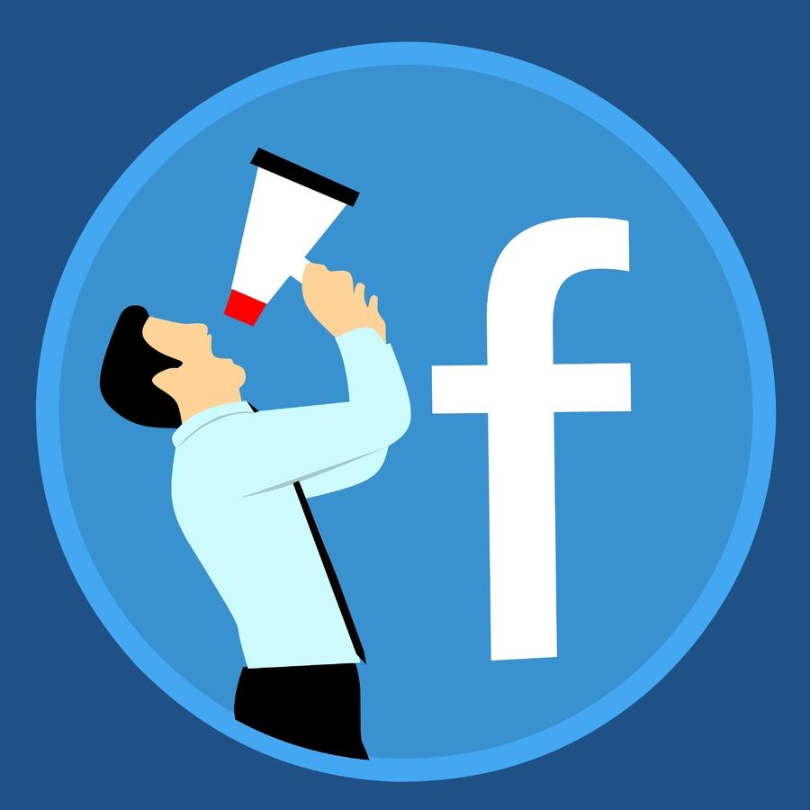 annonsere-facebook-mann-logo-blå